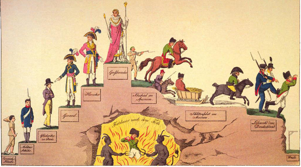 Napoleon In Karikaturen Zum Unterrichten